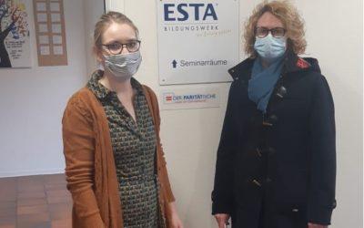 Besuch des Paritätischen im ESTA-Bildungswerk gGmbH Pflegeschule Emsdetten